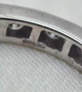 18ct White Gold Diamond Set Full Eternity Ring