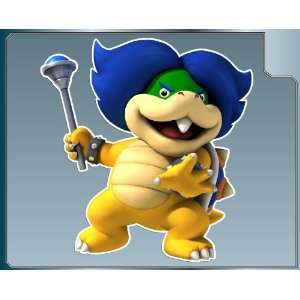 LUDWIG VON KOOPA Jr. from Super Mario Bros. vinyl decal