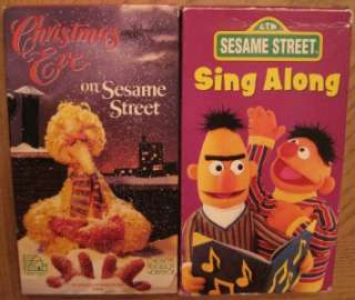 Videos SESAME STREET ELMOS WORLD BIG BIRD CHRISTMAS SING ALONG