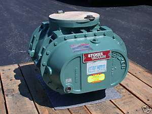 Stokes Rotary Lobe Blower, Model 607 1, V  Belt Drive