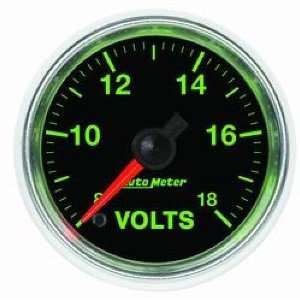 Auto Meter 3891 GS Electric Voltmeter Gauge Automotive