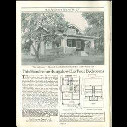 Wayward Homes {7 Vintage Catalogs} Montgomery Ward on CD