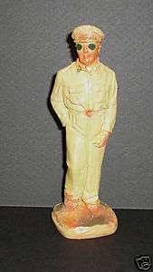 Gen. Douglas MacArthur 1950 plaster statuette WWII hero