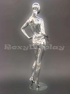 Mannequin Manequin Manikin Dressform Chrome Display CY3