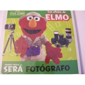Plaza Sesamo Los Oficios de Elmo Libro del Rompecabezas ~ Fotógrafo