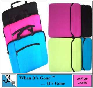 NETBOOK IPAD TABLET CARRY/SLEEVE CASE SPLASHPROOF diff sizes availabl