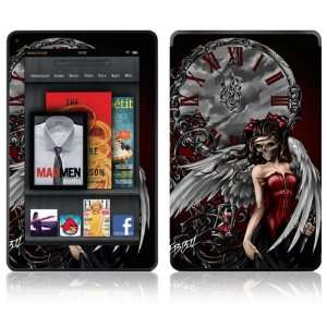 Angel Design Decorative Skin Decal Sticker for  Kindle Fire