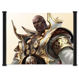Soul Calibur IV 4 Game Zasalamel Fabric Wall Scroll Poster