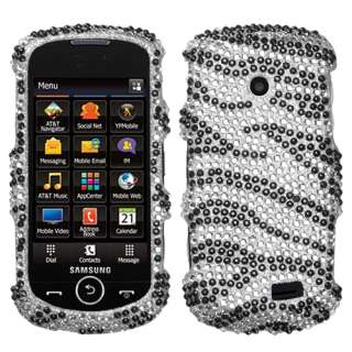 Zebra Bling Accessory Case Cover Samsung Solstice 2