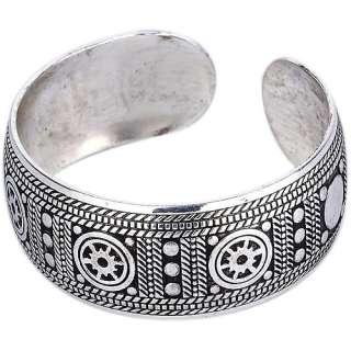 Tibet Tibetan Silver Lucky Totem Bangle Bracelet cuff free ship