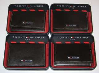 NEW ~Tommy Hilfiger Brown Tri fold Wallet ~ Gift Quality