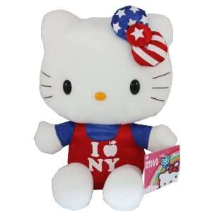 Sanrio Hello Kitty Plush 10 I Love New York Usa Exclusive Edition
