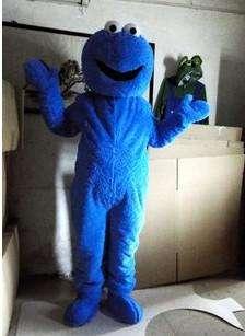 Sesame Street Elmo/Cookie Monster Mascot Costume Adult SIZE Halloween