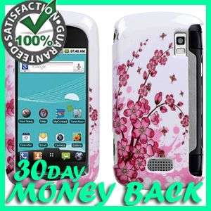 SPRING FLOWERS HARD SNAP CASE COVER FOR LG GENESIS