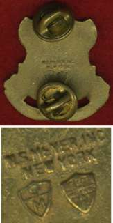 WWII WW2 Collar disk CHICKAMAUGA 19th Infantry Regt.