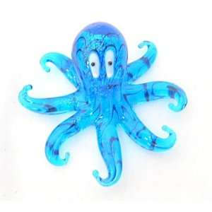 Milano Art Glass Octopus Figurine Gift Boxed Home