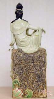 Chinese Ceramic / Porcelain Figurine Statue Guan yin