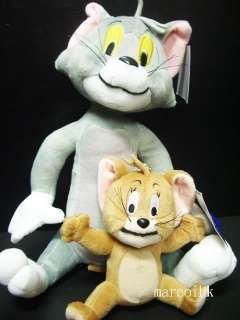 Tom And Jerry 13 Inch Plush Doll Soft Toy – NEW