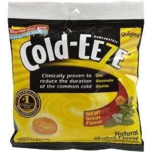 Cold EEZE Zinc Gluconate Lozenges Herbal 3.5oz 18 ct