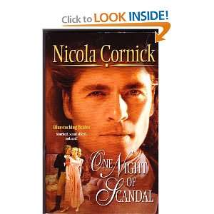 One Night of Scandal (9780373293636): Nicola Cornick: Books