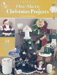 Crochet One Skein Christmas Projects Annies Attic Tree Top Angel