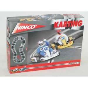 1/32 Ninco Analog Slot Car Race Track Sets   Karting