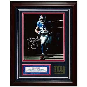 New York Giants #21 Tiki Barber Autographed Last Time Out of the