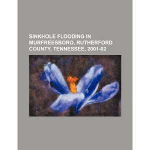 Sinkhole flooding in Murfreesboro, Rutherford County, Tennessee