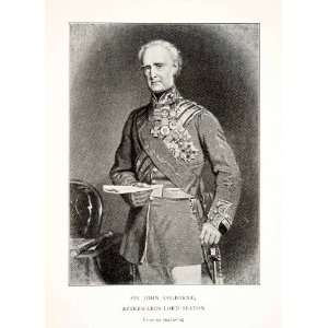 1900 Print Sir John Colborne Lord Seaton Field Marshal