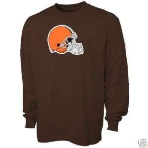 Cleveland Browns Reebok Long Sleeve Primary Logo T Shirt sz Medium