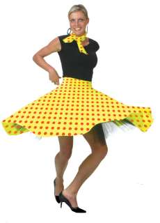 ROCK N ROLL SKIRTS   50s 60s DANCE LINDY HOP JIVE   7 DIFF COLOURS