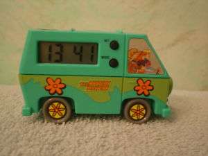Vintage Scooby Doo The Mystery Machine Van clock