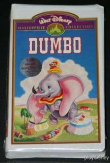 Walt Disney Masterpiece   Dumbo VHS BRAND NEW & SEALED 012257024036