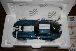 18 Exoto #13 Cobra Daytona Coupe 1965 Daytona 1st in class 2nd