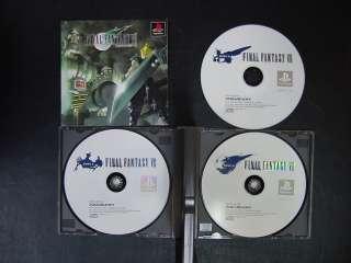 Final Fantasy 7 PlayStation JP GAME.