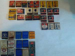 Vintage Matchbook collection found in a connecticut. Good value nice