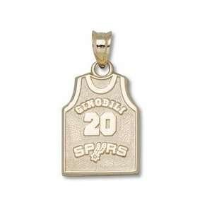Manu Ginobili San Antonio Spurs Ginobili 20 5/8 Jersey