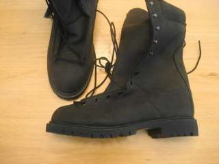 NEW MENS 11 CAROLINA GORE TEX BOOTS BLACK