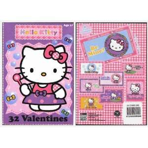 Hello Kitty Valentines Day Cards Toys & Games