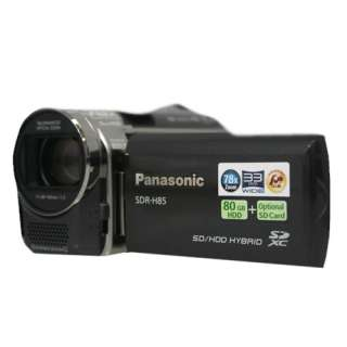New Panasonic SDR H85 80GB Camcorder (Black) SDR H85K 885170002449