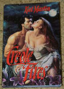 CREOLE FIRES by KAT MARTIN   HOT PASSION hc/dj 9780440208037 |