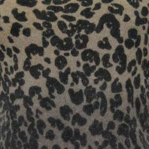 Sutton Studio Womens Cashmere Leopard Shell Tank PM