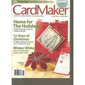 Card Maker Magazine (Home for the Holidays, November 2011