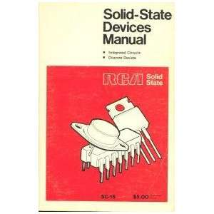 Solid State Devices Manual SC 16: Rca: Books