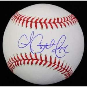 Autographed Andrew McCutchen Ball   OML PSA DNA