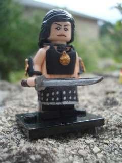 CUSTOM LEGO MINIFIG XENA WARRIOR PRINCESS SKIRT ARMOUR