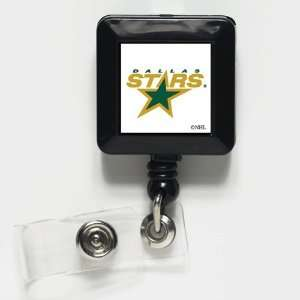 Dallas Stars Retractable Ticket Badge Holder Office