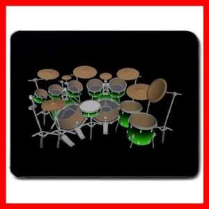 DRUMMER DRUMS MUSIC BAND Office Home Mouse Pad MousePad Mat New