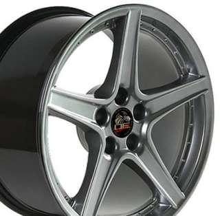 18 Rim Fits Mustang® Saleen Wheel Hyper Silver 18x9