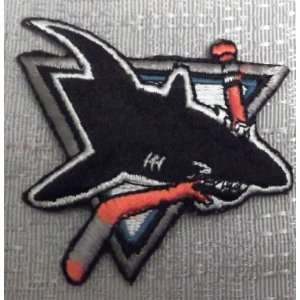 NHL SAN JOSE SHARKS Logo Embroidered PATCH Everything
